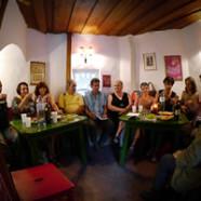 LiteraTurm – Kurzlesungen und Gespräche mit AutorInnen von Mundart-Texten